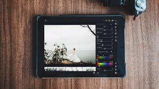 Обрабатываем свадьбу на iPhone или iPad в Lightroom Mobile // Wedding editing with Lightroom Mobile