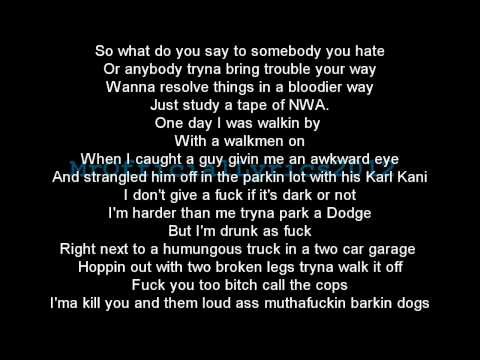 Dr Dre Ft Eminem  Forgot About Dre Lyrics *HQ AUDIO*