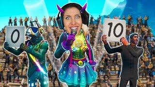 Gnu sucht den Fortnite Superstar ⭐ Mit 100 Leuten! Neues Fortnite Format