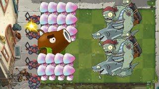 Hypno Shroom And Coconut Cannon - Plants vs Zombies 2