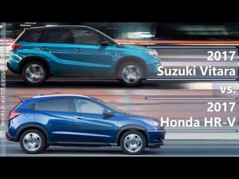 2017 Suzuki Vitara vs 2017 Honda HR-V (technical comparison)