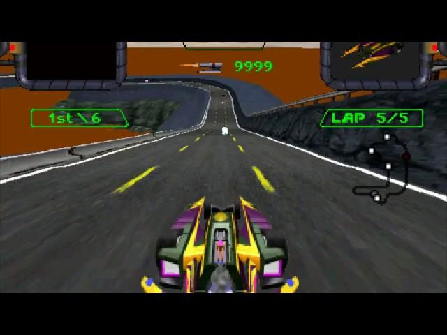 3DO Crash 'n Burn playthrough