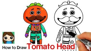 How to Draw Tomato Head | Fortnite