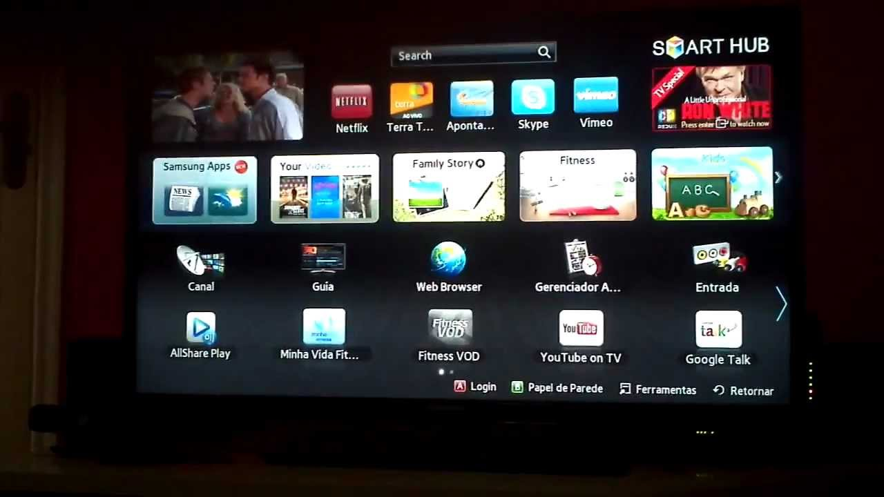 09 Internet Smart Tv Samsung Un40eh5300 Web Browser