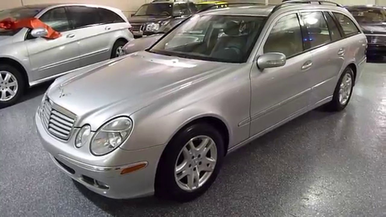 medium resolution of 2006 mercedes benz e350 4matic wagon sold 2538 plymouth mi
