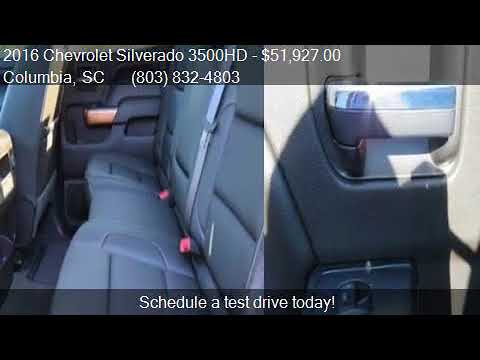 2016 Chevrolet Silverado 3500HD  for sale in Columbia, SC 29