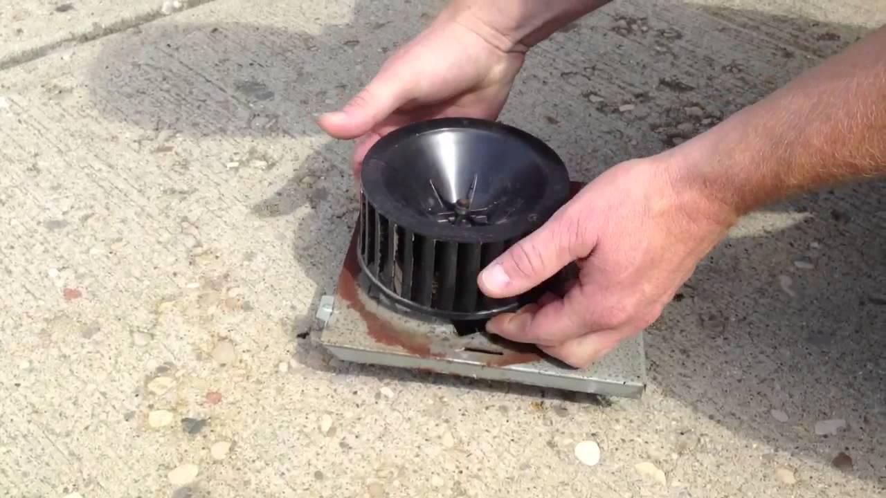 repairing a nutone bathroom fan by how to bob