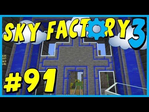 Data Play's - Sky Factory 3 - #91 - Mob Farm of Mass Destruction!