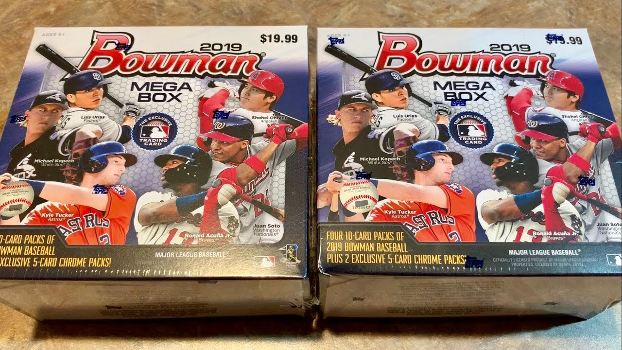 Searching For 2019 Bowman Mega Boxes At Target With Box Opening