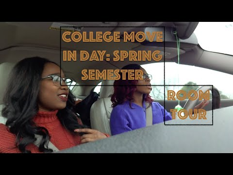 COLLEGE MOVE IN- ULM | Spring Semester & Room Tour