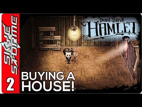 Don't Starve Hamlet Ep 2 ◀HOW TO FARM 50 OINCS AND BUY A HOUSE FAST!▶