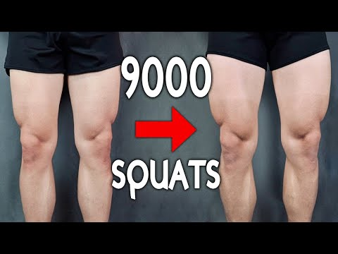 This Guy Did 300 Squats a Day for 30 Days and Shared His Body Transformation