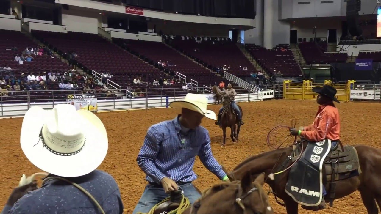 14yr old cowgirl @ Real Cowboy Association National Black ...