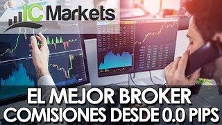 📲📈 IC MARKETS EL BROKER CON LAS MAS BAJAS COMISIONES | Aprende Forex desde