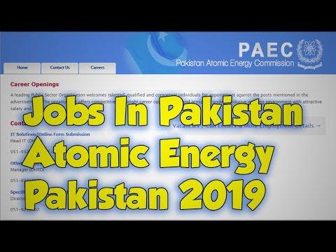 PAEC Latest Jobs May 2019 - Jobs In Pakistan Atomic Energy|Pakistan 2019 Latest Govt Jobs Today