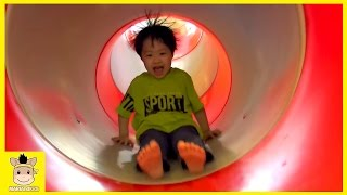 Indoor Playground for Kids and Family Fun Play Find Kids Cafe Cocomong Pororo | MariAndKids Toys