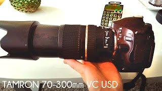 Should YOU BUY ? | Tamron 70-300mm f 4-5.6 Di VC USD | Test Image Stabilization ON & OFF