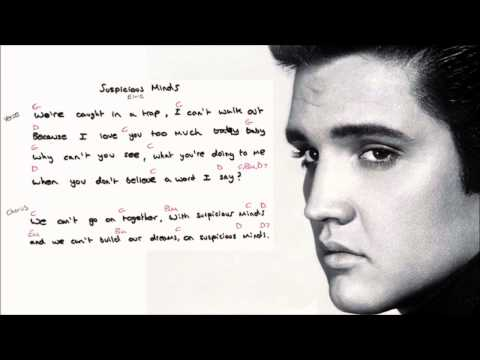 Suspicious Minds Lyrics And Chords Download Mp3 41 Mb Download