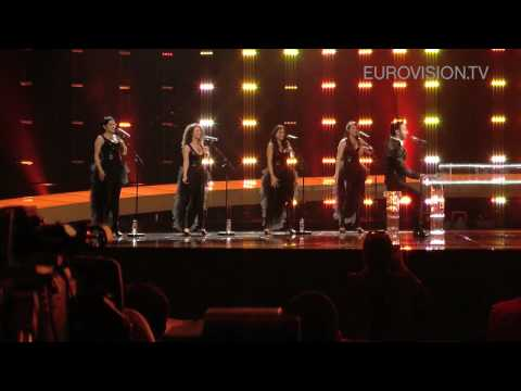 Paula Seling & Ovi's second rehearsal (impression) at the 2010 Eurovision Song Contest