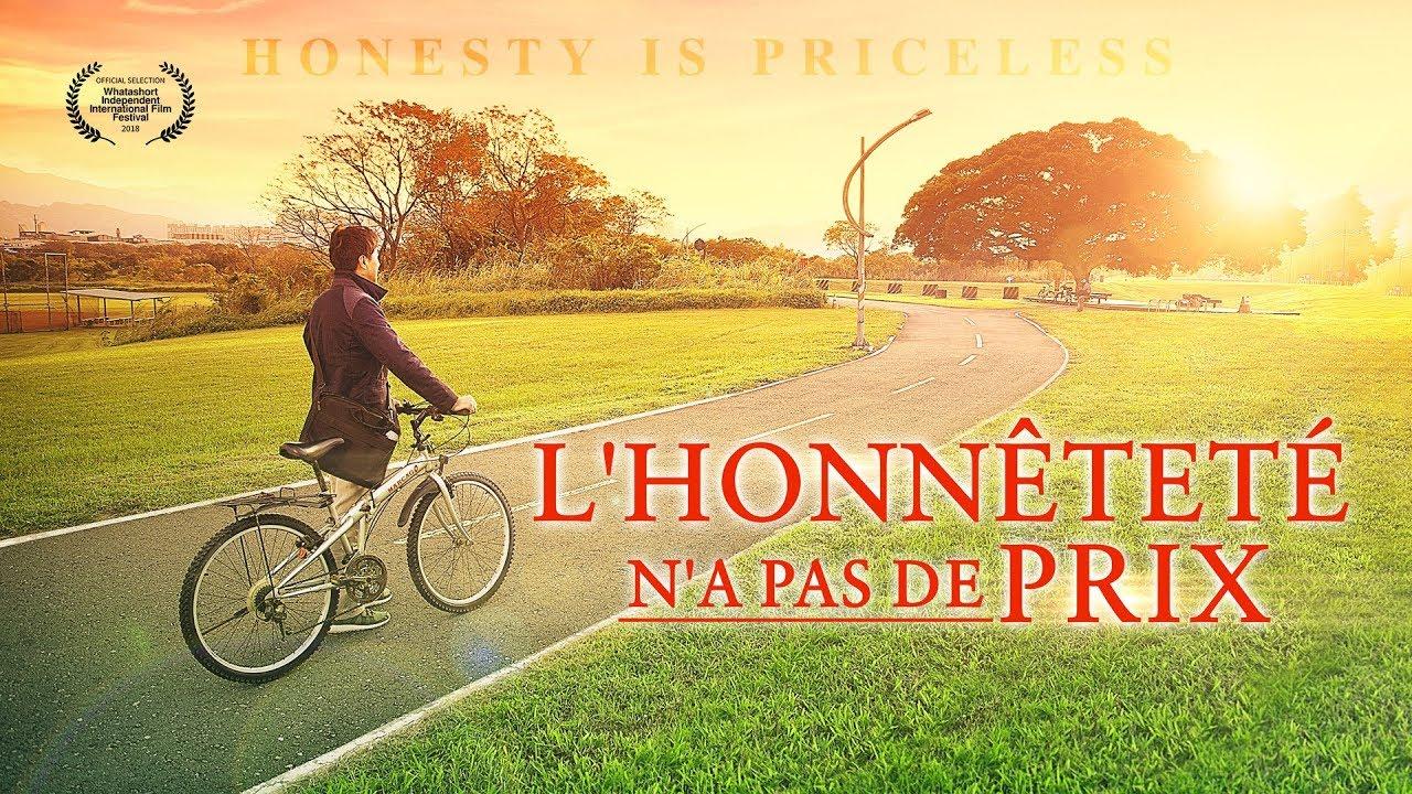 Témoignage chrétien en français « L'honnêteté n'a pas de prix »