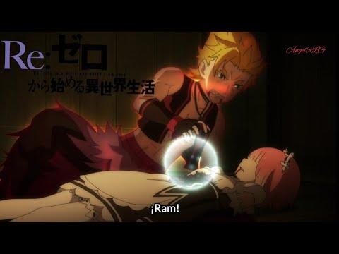Re:zero Roswall utiliza a Ram para eliminar a Garfield