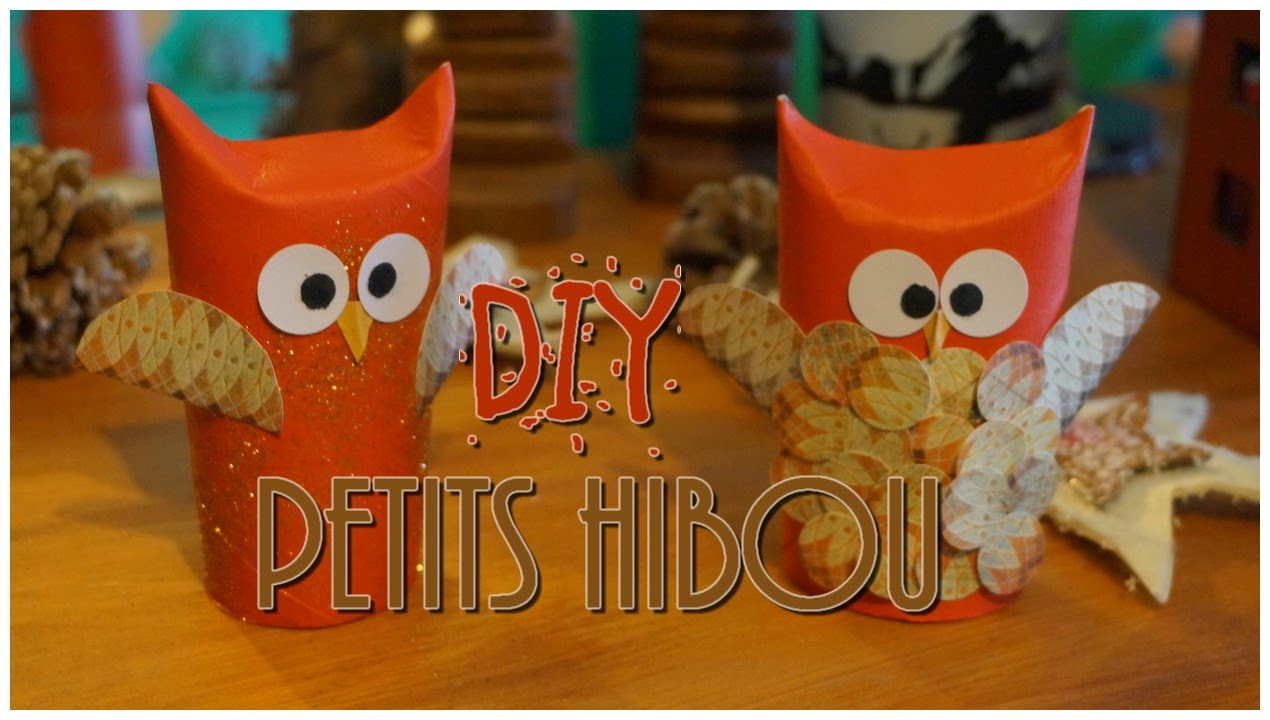 diy toilet roll owl des hiboux avec des rouleaux de papiers toilette youtube. Black Bedroom Furniture Sets. Home Design Ideas