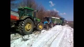 Россия и тракторы, приколы, видео приколы с тракторами