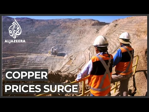 Copper price surges due to global shortage