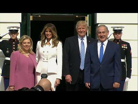 Israelis and Palestinians react to Trump-Netanyahu meeting