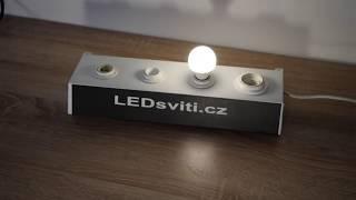 MINI LED ŽÁROVKA E14 5W DENNÍ BÍLÁ | LEDsviti | 1112