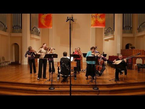 Bach Double: Rachel Podger & Elizabeth Blumenstock BWV 1043 (Violin Concerto in D Minor) 4K