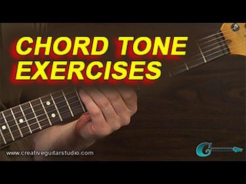 GUITAR THEORY: Chord Tone Exercises