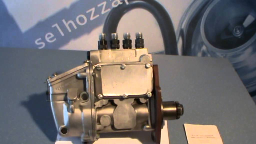 Топливный насос трактора МТЗ-80, МТЗ-82, описание, состав.