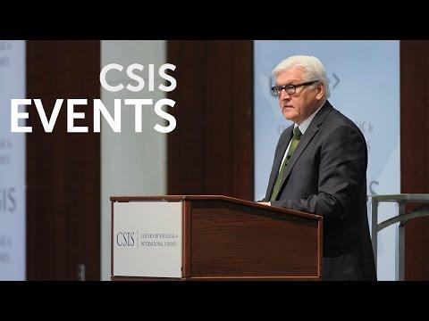 Statesmen's Forum: H.E. Dr. Frank-Walter Steinmeier, German Foreign Minister