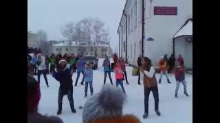 Танцевальный флэшмоб. Беломорск. vk.com/belomorsk_new(, 2014-12-21T18:41:31.000Z)