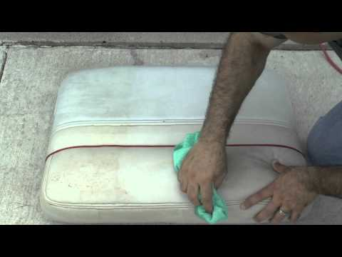 Wipe Out Vinyl Cleaner - Boat Interior and Vinyl Cleaning
