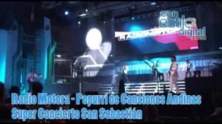 Radio motora-popurri de canciones andinas