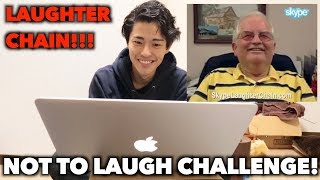 JAPANESE TRIES NOT TO LAUGH CHALLENGE!!!!(LAUGHTER CHAIN)