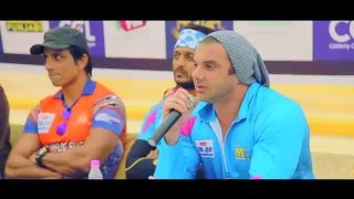 Part 1 - Sonu Sood, Navraj Hans, Gurpreet Ghuggi, Hardy Sandhu and more in TouchDown Punjab