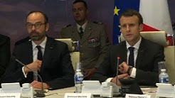 France: Macron at emergency meeting on jihadist attack