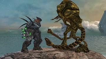 Halo Reach Hunters VS. Flood Juggernauts