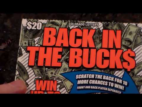 Colorado Lottery: $20 Back in the Bucks