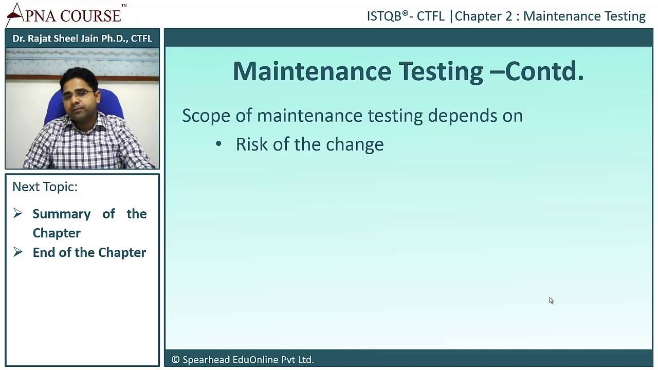 Istqb certified tester foundation level what do you mean by istqb certified tester foundation level what do you mean by maintenance testing 1betcityfo Image collections