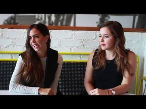 Daniela López y Ana Elisa González - Verde Lima - Cool Jobs