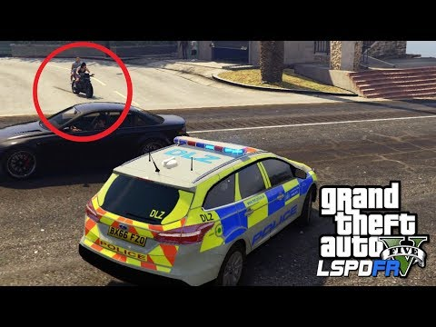 POLICE VS. MOPED THIEVES | GTA 5 PC LSPDFR | The British Way #139
