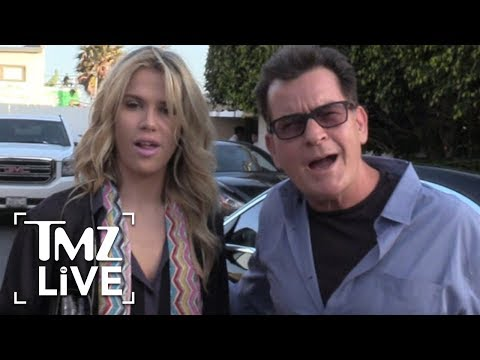Charlie Sheen's Got A New Girlfriend | TMZ Live