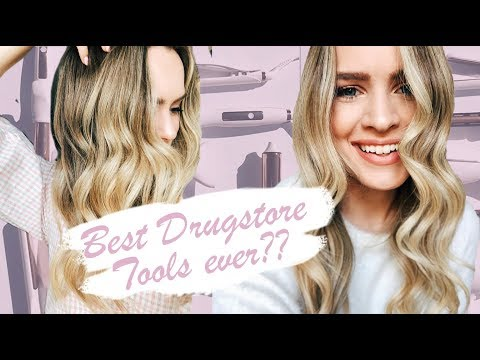 Drugstore Hair Tools That Work?? Reviewing The NEW Kristin Ess Line At Target!