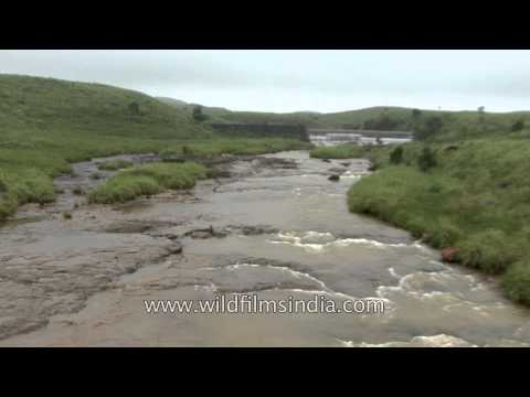 And how the water flows in Cherrapunji