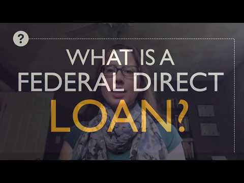 what-is-a-federal-direct-loan?