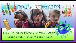 Kids vs Food - Kids Try Weird Foreign Drinks!